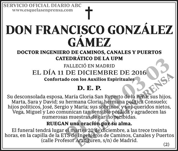 Francisco González Gámez